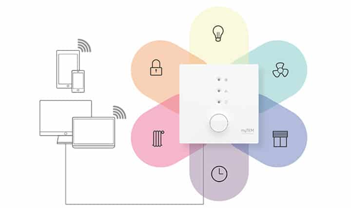 Smart Home Blume myTEM